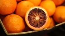 The Market Review - Dracula Blood Oranges and Pristine Grapes