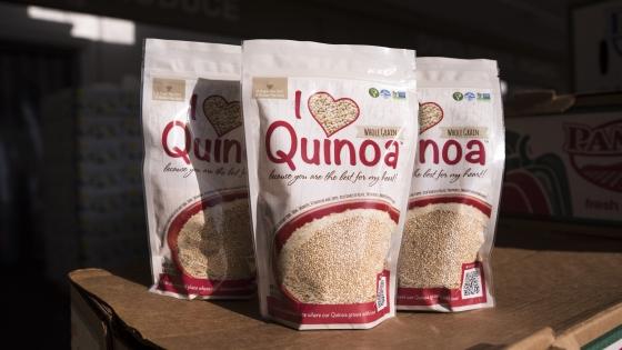 I Heart Quinoa.