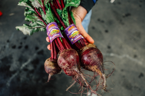 Ca-Grown Red Beets